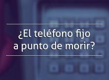 ¿El teléfono fijo a punto de morir?